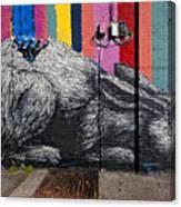 Street Art Wiiliamsburg Brooklyn Canvas Print
