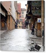 Streets Of Florence Canvas Print