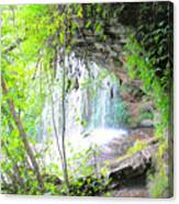 Stumphouse Tunnel Canvas Print