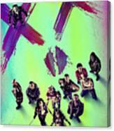 Suicide Squad 2016 Canvas Print