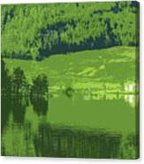 Summer In Norway Canvas Print