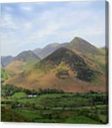 Summer, The Newlands Valley, Lake District National Park Canvas Print