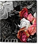 Sundial Bouquet Canvas Print
