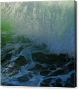 Sunlight And Surf Canvas Print