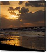 Sunrise Before The Storm Canvas Print
