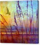Sunrise Flight Canvas Print