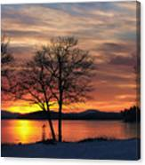Sunrise Winnipesaukee Canvas Print