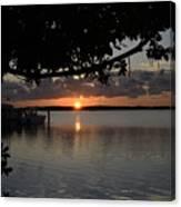 Sunset At Islamorada Canvas Print
