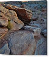 Sunset Comes To Valley Of Fire Canvas Print