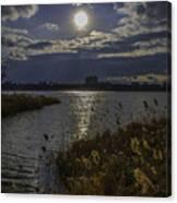 Sunset,lake Canvas Print