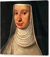 Suor Maria Celeste, Galileos Daughter Canvas Print