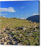 Superb Landscape In Rocky Mountain National Park Canvas Print