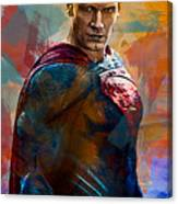 Superhero.superman. Canvas Print
