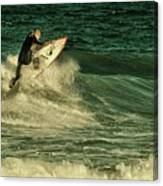 Surfing - Jersey Shore Canvas Print