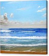 Surfside Morning Canvas Print