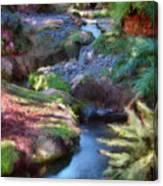 Swamis Garden 1 Canvas Print