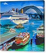 Sydney Quay Canvas Print