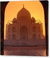 Taj Mahal View Canvas Print