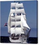 Tall Ship Europa Canvas Print