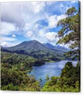 Tamblingan Lake - Bali Canvas Print