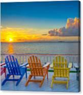 Tampa Bay Sunset Canvas Print