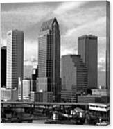Tampa The Downtown Canvas Print