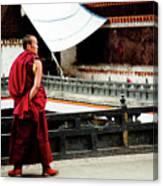 Tashilhunpo Monastery Shigatse Tibet Yantra.lv  Canvas Print