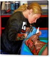 Tattoo 1 Canvas Print