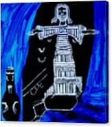 Temptation Of Jesus Canvas Print
