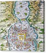 Tenochtitlan (mexico City) Canvas Print