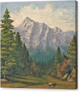 Teton Meadow Canvas Print