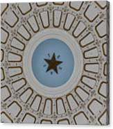 Texas State Capitol - Interior Dome Canvas Print