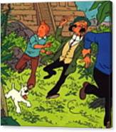 The Adventures Of Tintin Canvas Print