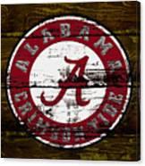 The Alabama Crimson Tide Canvas Print