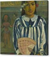 The Ancestors Of Tehamana Canvas Print