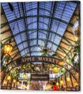 The Apple Market Covent Garden London Canvas Print