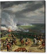The Battle Of Valmy Canvas Print