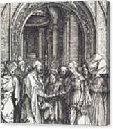 The Betrothal Of The Virgin Canvas Print
