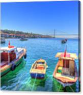 The Bosphorus Istanbul Canvas Print
