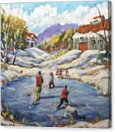 The Break Away By Prankearts Canvas Print