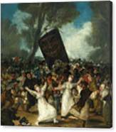 The Burial Of The Sardine Canvas Print