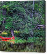 The Canoe Canvas Print