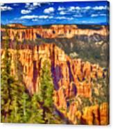 The Canyon Canvas Print