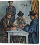 The Card Players Canvas Print
