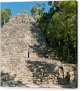 The Church At Grupo Coba At The Coba Ruins  Canvas Print