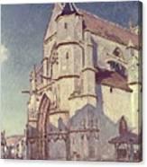 The Church At Moret Canvas Print