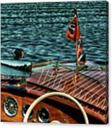 The Classic 1958 Chris Craft Canvas Print