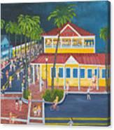 The Corner Canvas Print