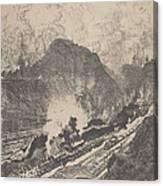 The Cut From Culebra Canvas Print