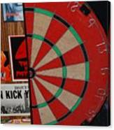 The Dart Board Canvas Print